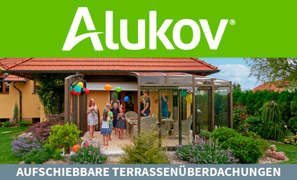 Terrassenüberdachungen von Alukov Austria